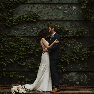 Romantic Elopement in the Distillery District