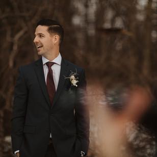 A Surprise Elopement on a Zoom Call | Matt & Alex's Intimate Backyard Wedding