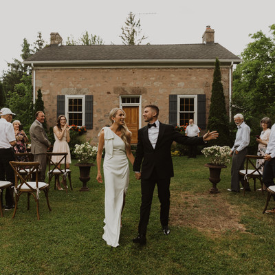 Love in the time of Covid | A Romantic Backyard Wedding in Erin, Ontario