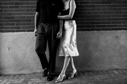 Summer Engagement Session in Downtown London, Ontario