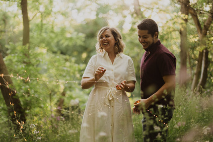 Engagement Session by the Speed River in Guelph, Ontario