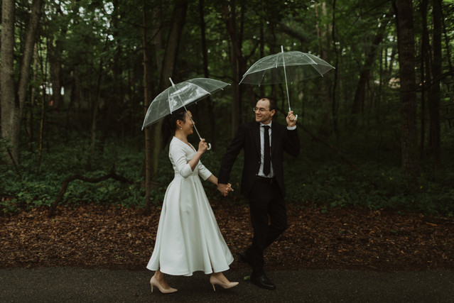 Intimate Micro Wedding in Grand Bend, Ontario