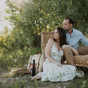 Summer Engagement Session at Guelph Lake | Melissa & Andrew, Guelph, ON