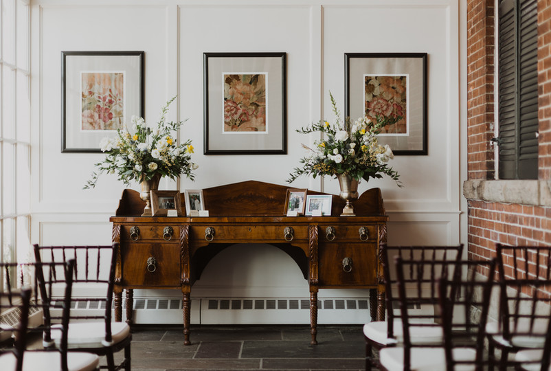 Intimate Wedding at Langdon Hall, Cambri