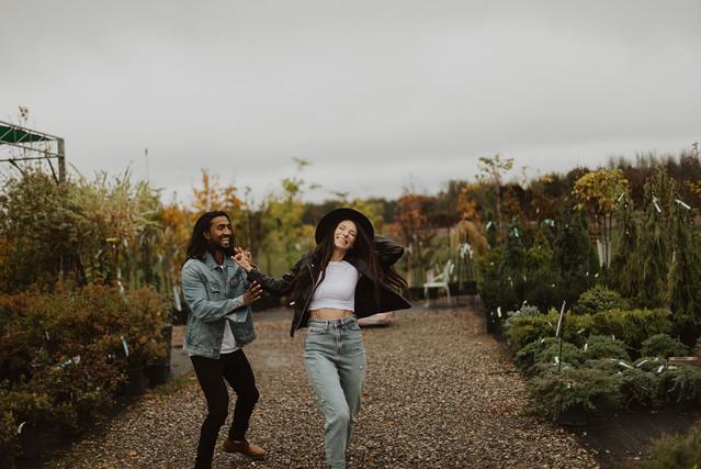 Rainy Day Couples Photoshoot at Royal Ci