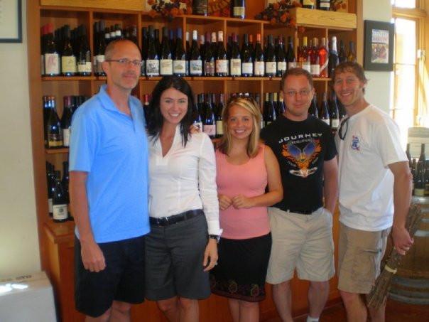 Wine Tasting after Leadership Workshop