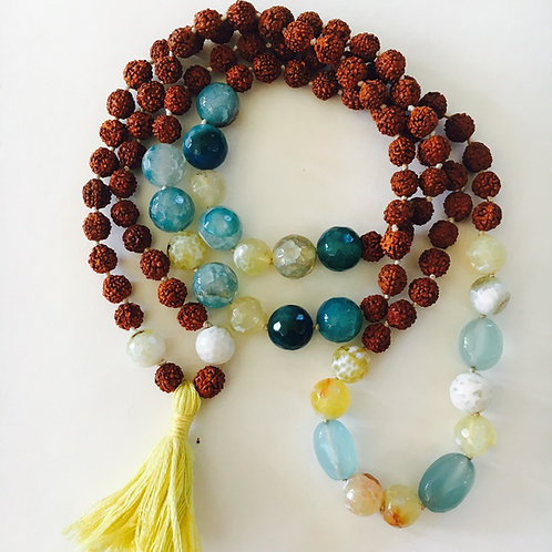 Everything comes in Abundance Mala