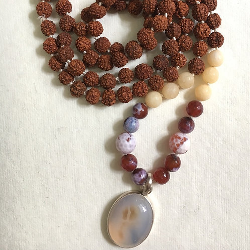 Contentment and Happiness Mala