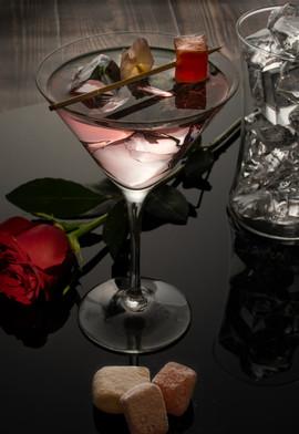 Turkish Delight Martini & Shards