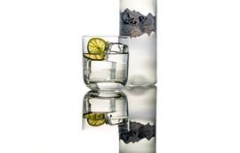 Medium Acrylic Ice Cubes