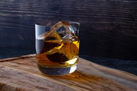 Dark Rum & Medium Cubes
