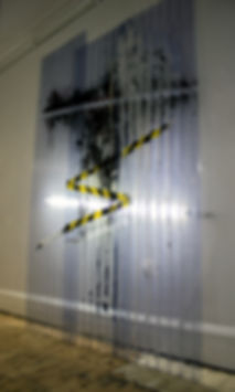 PVC, Mixed Media, Painting, Gavin Mc Crea, art
