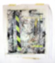 Untitled1 Mixed media on canvas 77cmx80c