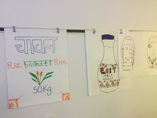 Student Work Wall: Bilingualism meets multilingualism in Canada