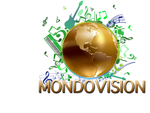 A  scene from the filming of the MondoVision pseudo-documentary (click our MondoVision logo to view)