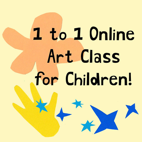 1 to 1 Online Art Class for Children
