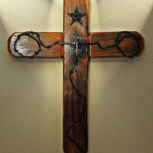 The Old West Rustic Cross (and 3 FREE Christian based handmade note cards)