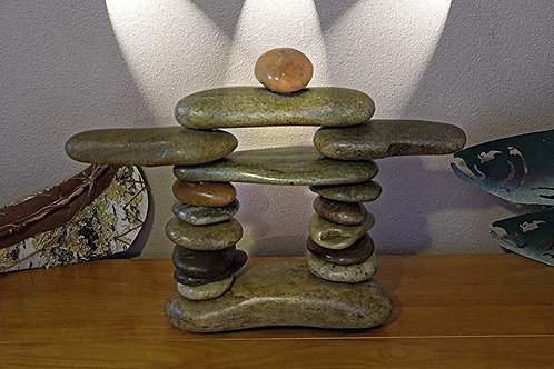 Our Stone Inukshuk Inspired by the Inuit People in the Alaska and Canada