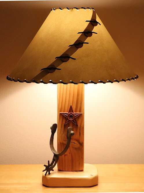 The Old El Paso Table Lamp w/Choice Of Shade