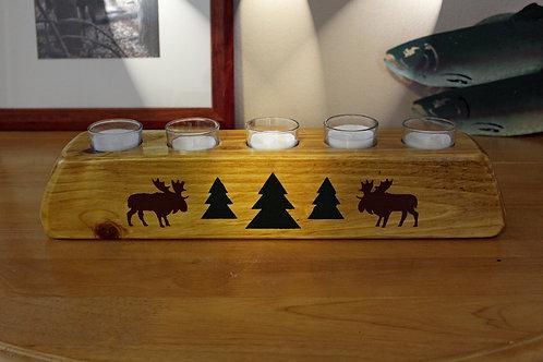 Moose River Votive Candle Holder