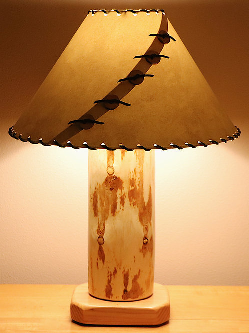 The Big Sawtooth Mountain Table Lamp w/Choice of Shade