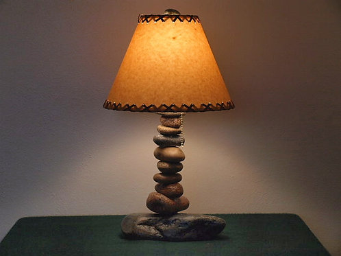Clearwater Tall Stone Lamp (lamp shade is currently unavailable)
