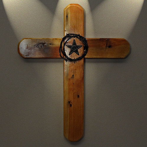 The Old El Paso Rustic Cross (and 3 FREE Christian based handmade note cards)