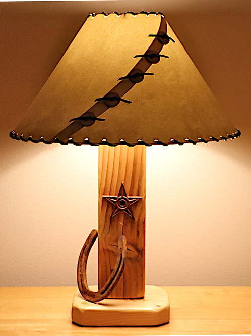 The Old West Table Lamp w/Choice of Shade