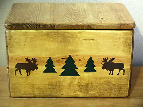 The Moose River Handmade Storage Box