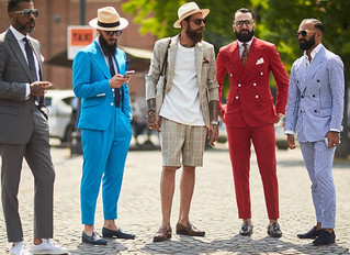 The European View of Spring 2018 Men's Fashions