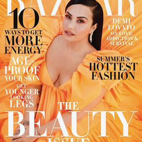 Demi Lovato x Harpers Bazaar