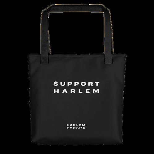 SUPPORT HARLEM TOTE BAG