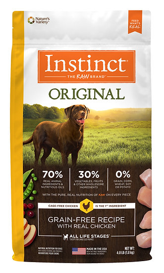 Instinct Original Grain Free Recipe with Real Chicken