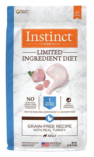 Instinct Limited Ingredient Diet Grain Free Recipe with Real Turkey