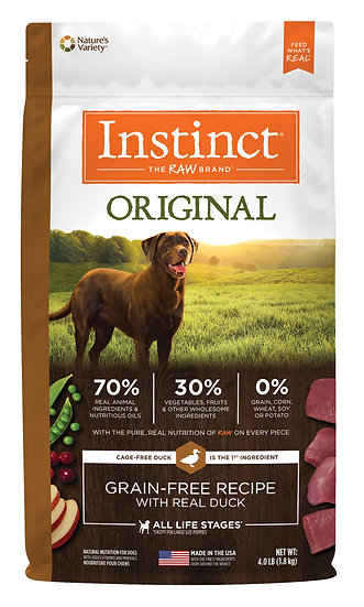Instinct Original Grain Free Recipe with Real Duck