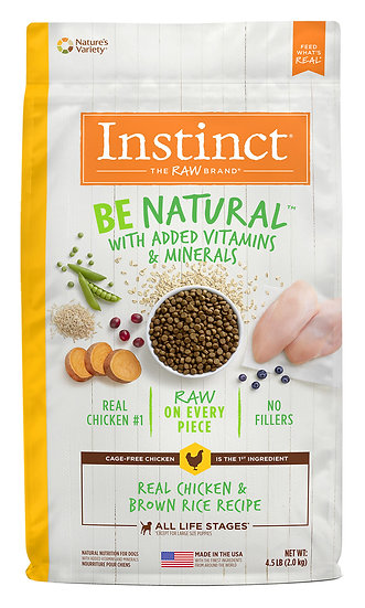 Instinct Be Natural Real Chicken & Brown Rice