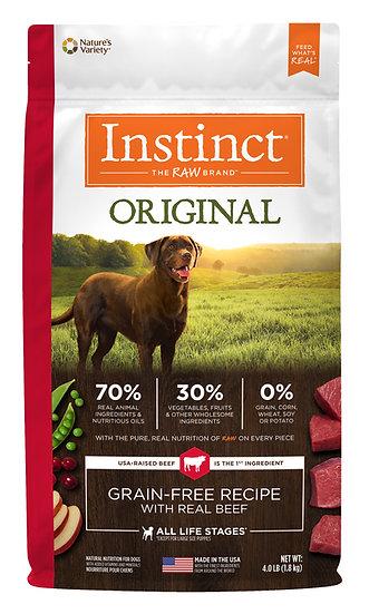 Instinct Original Grain Free Recipe with Real Beef