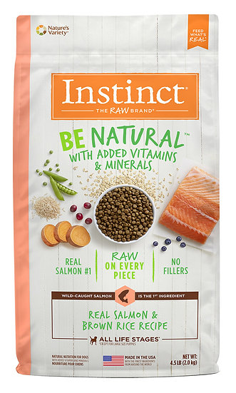Instinct Be Natural Real Salmon & Brown Rice