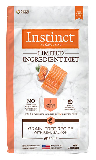 Instinct Limited Ingredient Diet Grain Free Recipe with Real Salmon