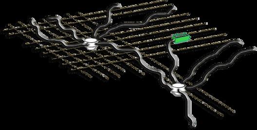 Schéma de pieuvre électrique
