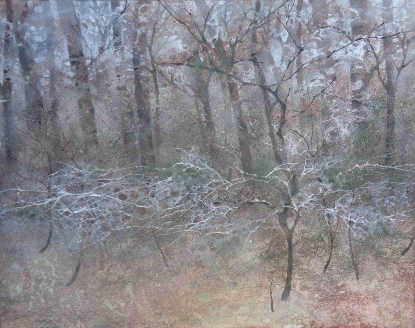 Après-midi - 50 x 40 cm / 2016