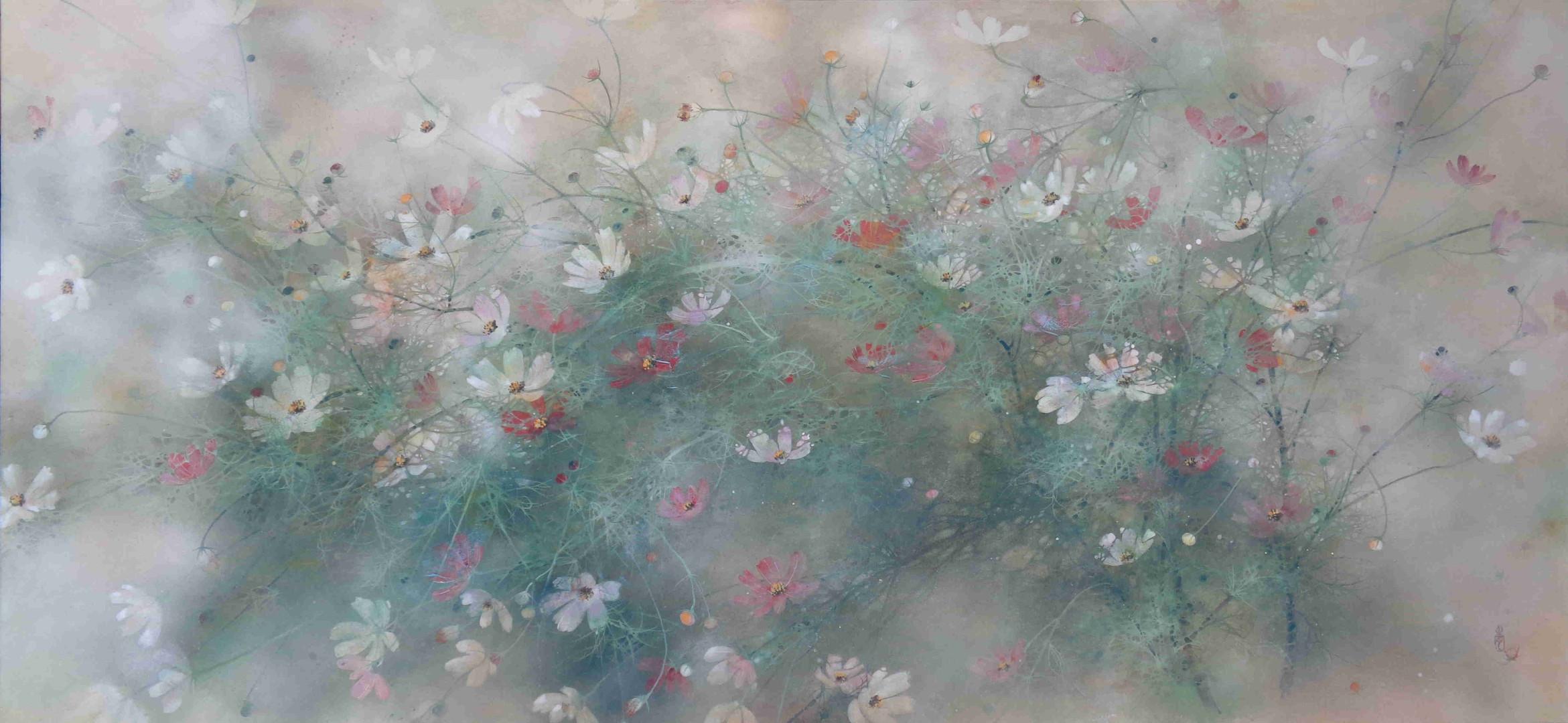 Blossoming Impressionism - 70 x 150 cm / 2021
