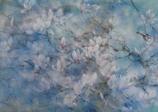 Le vent du printemps - 70 x 100 cm / 2020