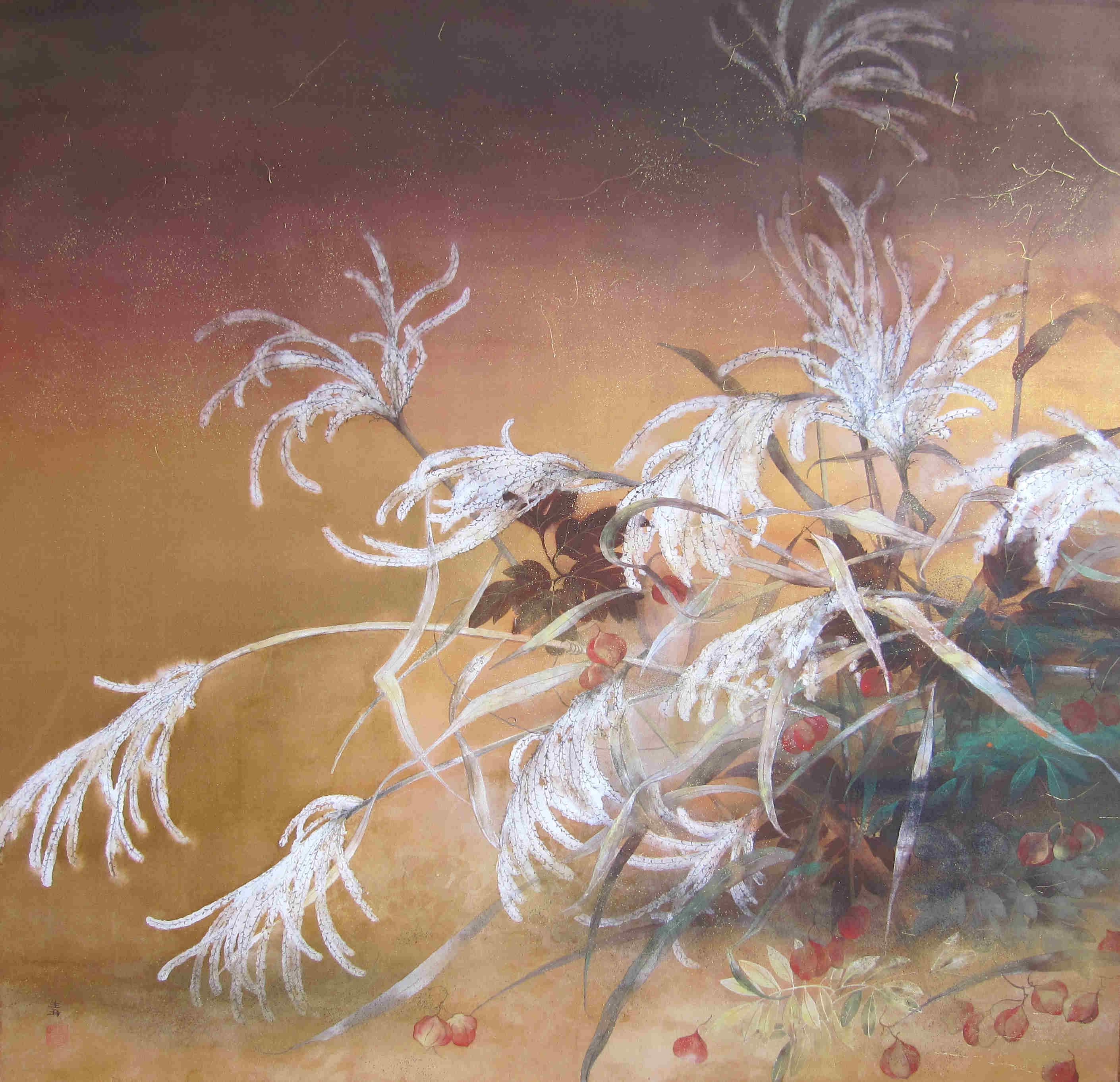 Brise d'automne-87x90cm
