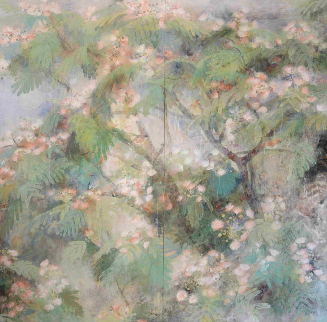 Coupe de foudre - 180 x 180 cm / 2009