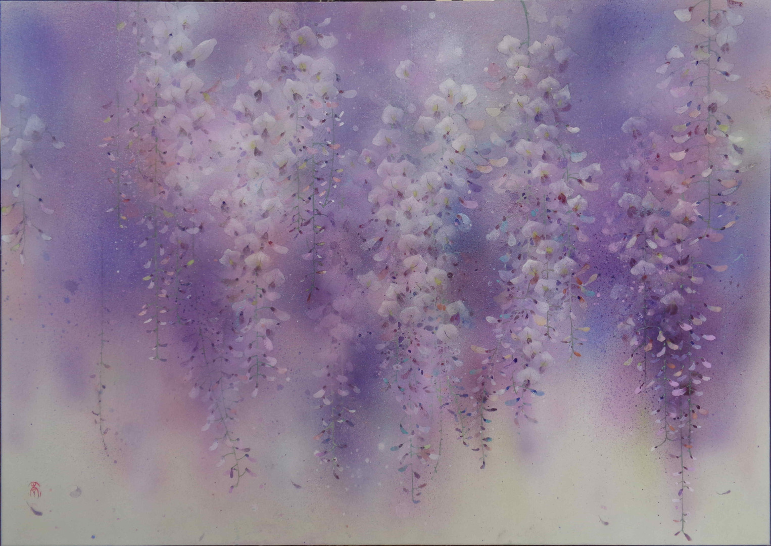 Violet - 50 x 70 cm / 2020