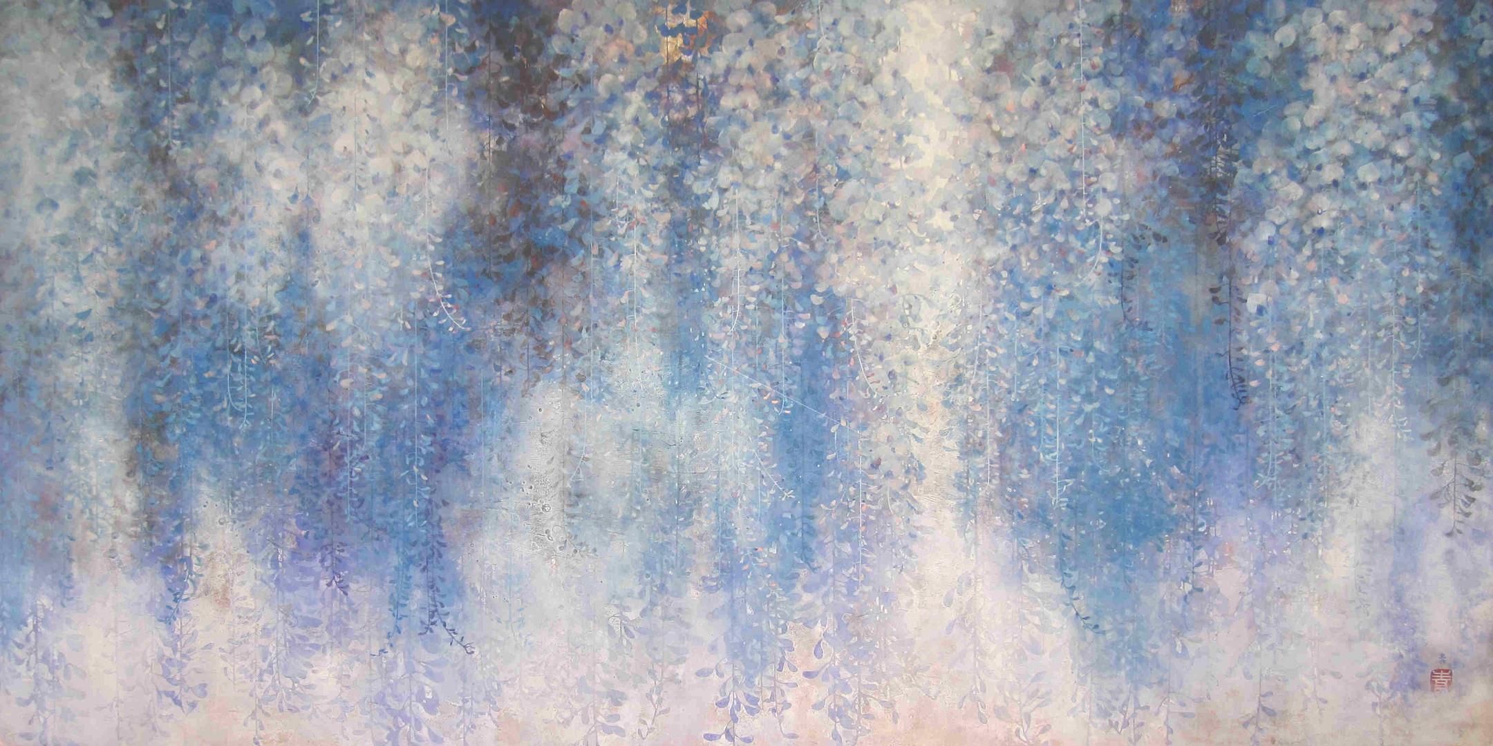 Voile printanier - 90 x 180 cm / 2012