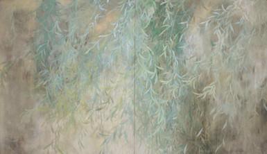 Saule pleureur - 105 x 190 cm / 2011