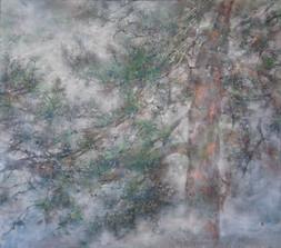 Le vent d'été - 112 x 132 cm / 2020