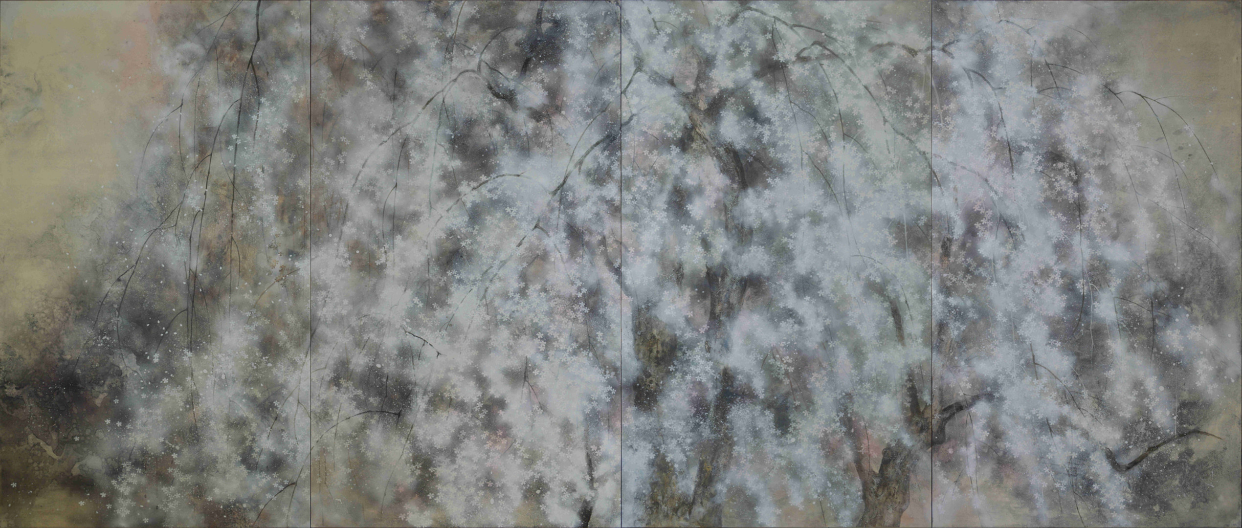 Hanami - 153 x 360 cm / 2015
